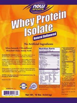 Now Whey Isolate 4560 гр / 10.05 lbs/ 4.56 кг