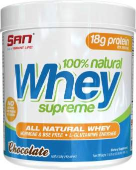 San 100% Natural Whey Supreme 454 гр / 1lb