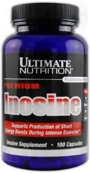 Ultimate Nutrition Pure Inosine 500 mg 100 капс / 100 caps