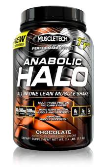 Muscletech Anabolic Halo Performance Series 1100 гр / 2.5lb