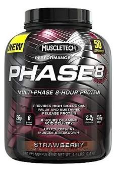 Muscletech Phase8 Multi Phase 2 кг / 4.5lb / 2000гр