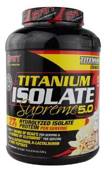 San Titanium Isolate Supreme 2240 гр / 5lb / 2.24кг