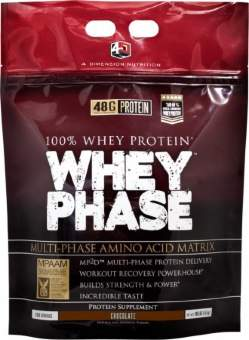 4 Dimension Nutrition Whey Phase 4570 гр / 10lb / 4.5 кг