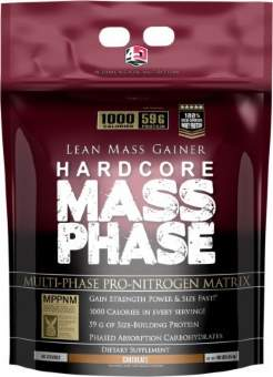 4 Dimension Nutrition Mass Phase Hardcore 4570гр / 10lb / 4.5кг