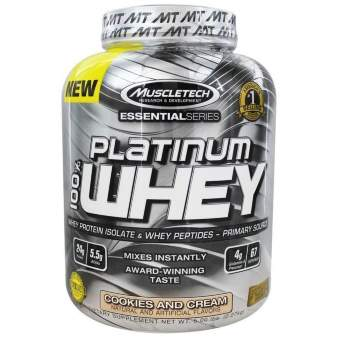 Muscletech Essential 100% Whey 2270 гр / 5lb / 2.27кг