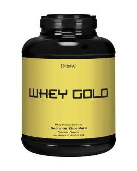 Ultimate Nutrition Whey Gold 2270 гр / 5lb / 2.27 кг