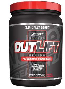 Nutrex Outlift 518 гр / 18.23 Oz / 20 порций