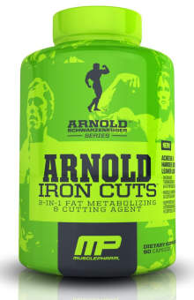 Musclepharm Iron Cuts Arnold Series 90 кап / 90 caps