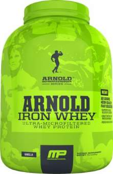Musclepharm Iron Whey Arnold Series 2270 гр / 5lb / 2.27кг
